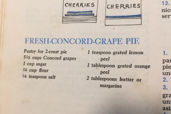 Pie recipe